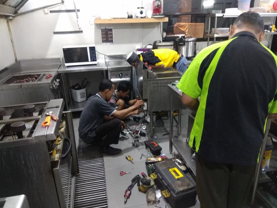 service kompor gas restoran solo