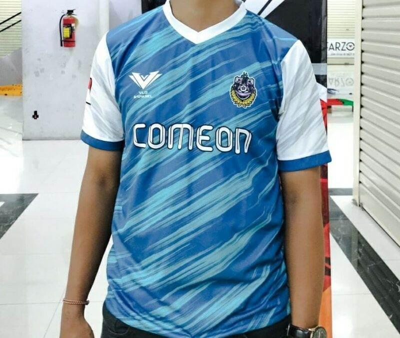 desain jersey biru