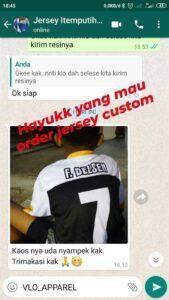 testimoni order jersey printing custom