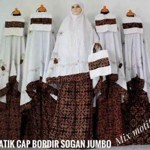 jual mukena batik solo