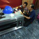 service oven gas solo