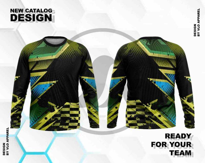 green mtb jersey
