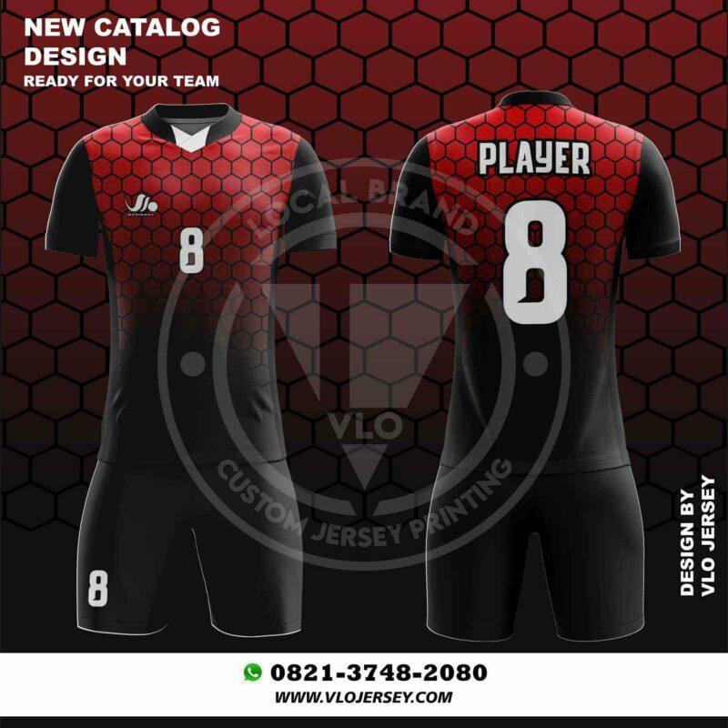 template jersey futsal printing